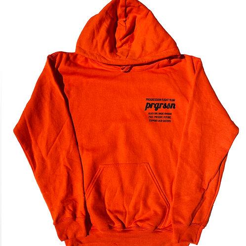 Black Women Are The Future Hoodie (Orange)