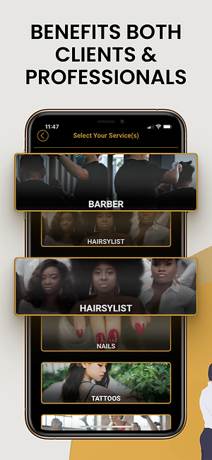barber booking app