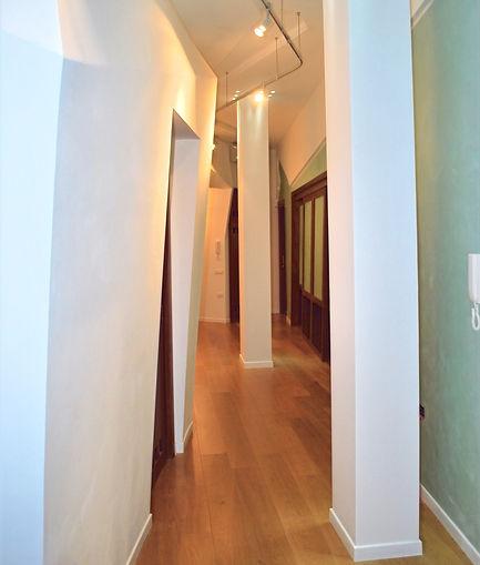 Progetto appartamento in zona Lungotevere Flaminio