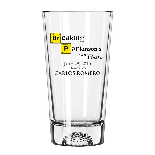2016 Souvenir Glass (Honoree: Carlos Romero)
