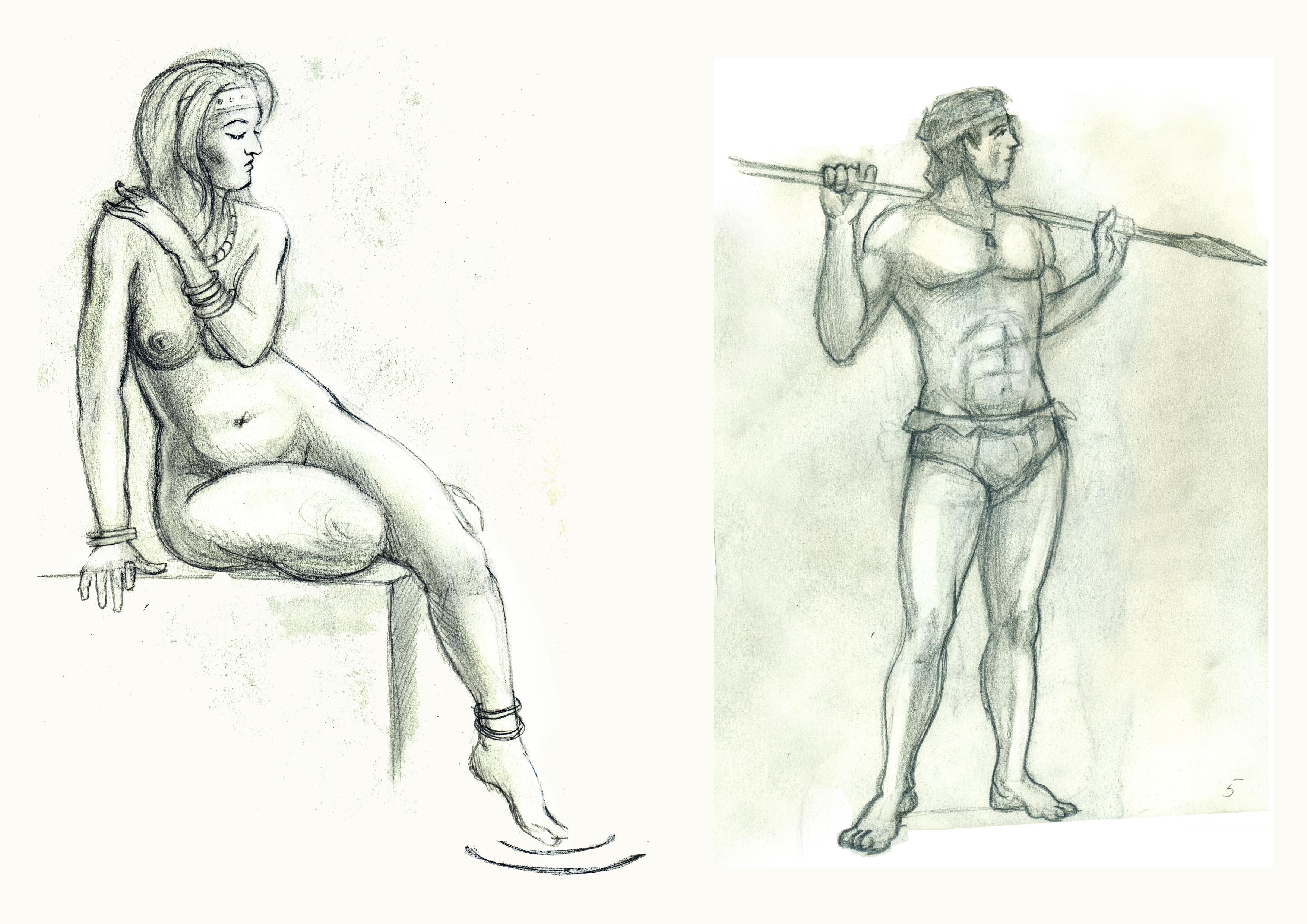 Сдвоеный рисунок 3