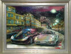 Картина маслом заказ Огни МонтеКарло