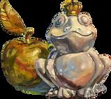 Лягушка и яблоко.png
