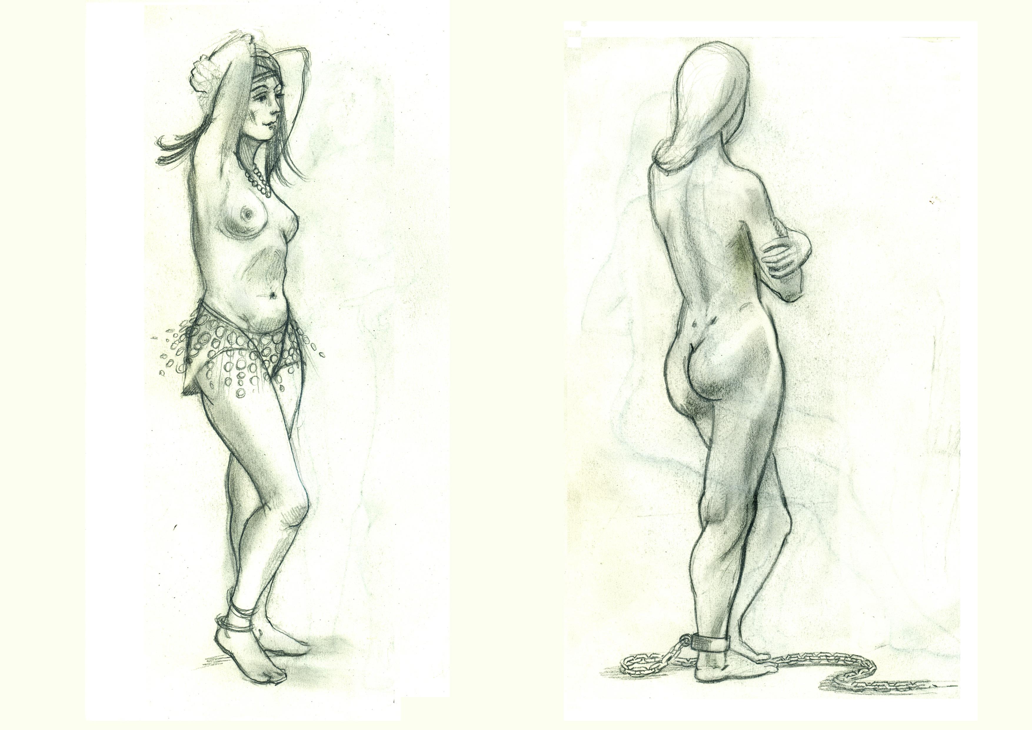 Сдвоеный рисунок 1