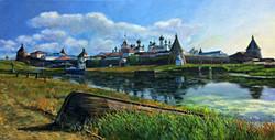 "Картина, ""Соловетский монастырь"""