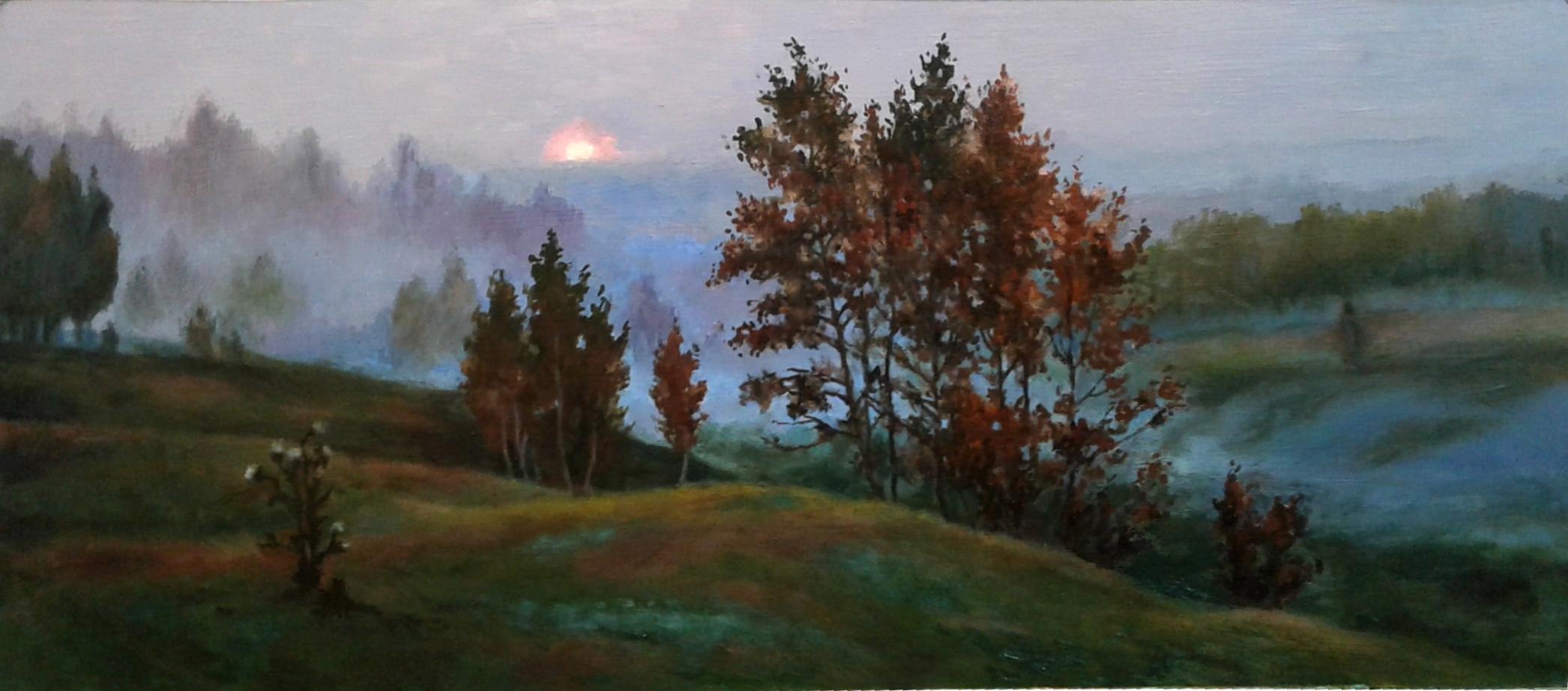 Копия картины Б. Щербакова