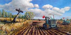 Картина маслом заказ Победная весна