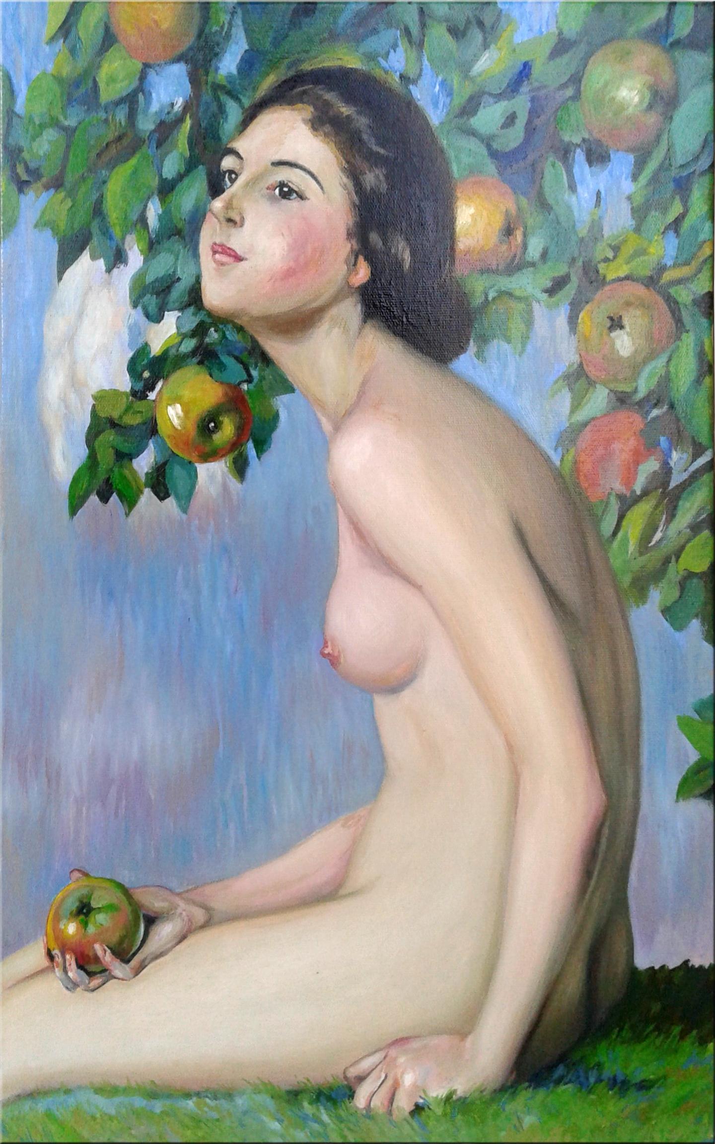 Копия картины Ева