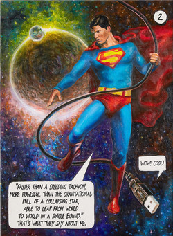 Картина Супермен