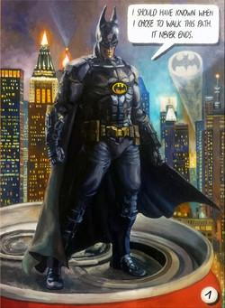 Картина Бэтмен