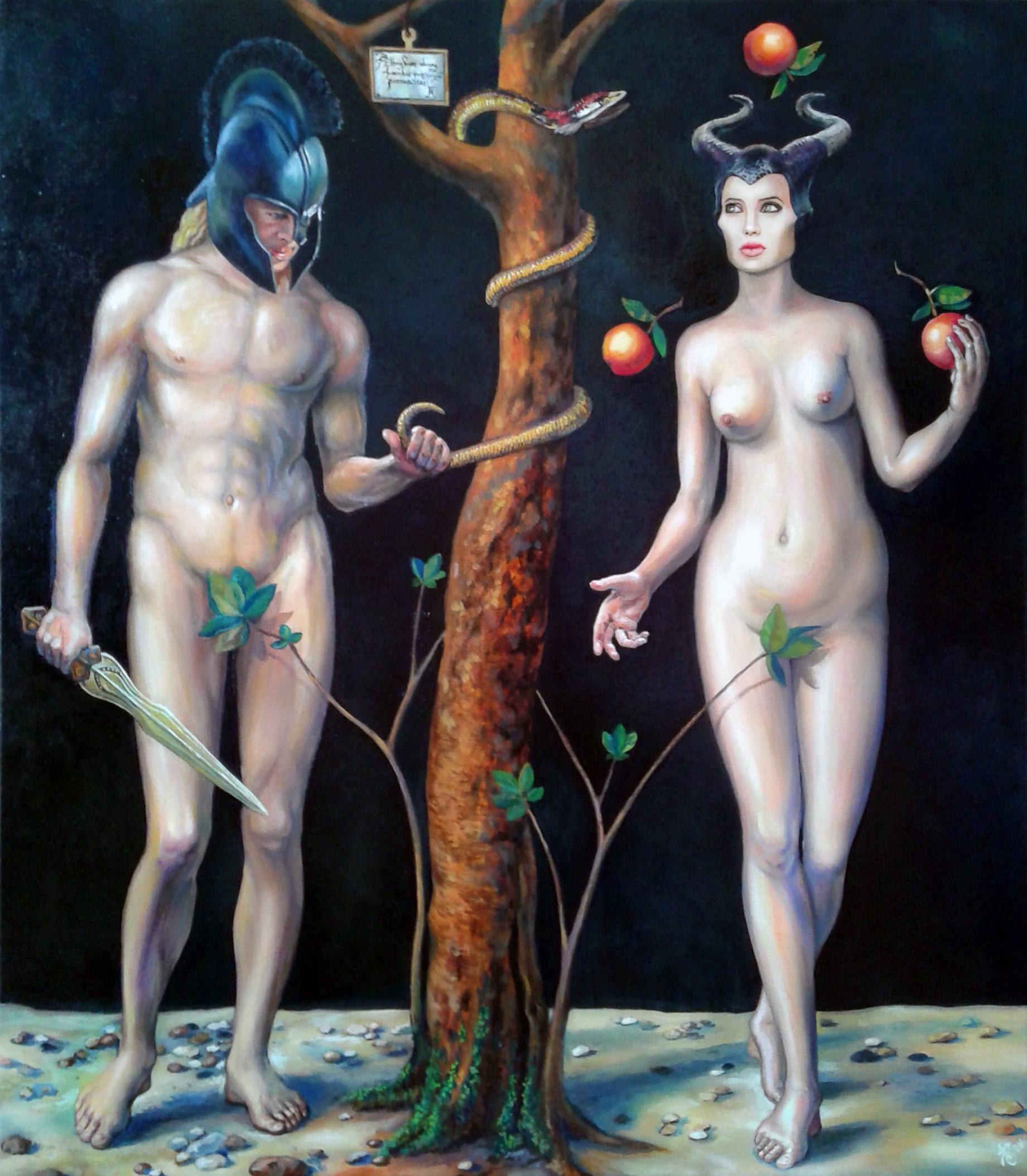 Картина Adam and Eva return!