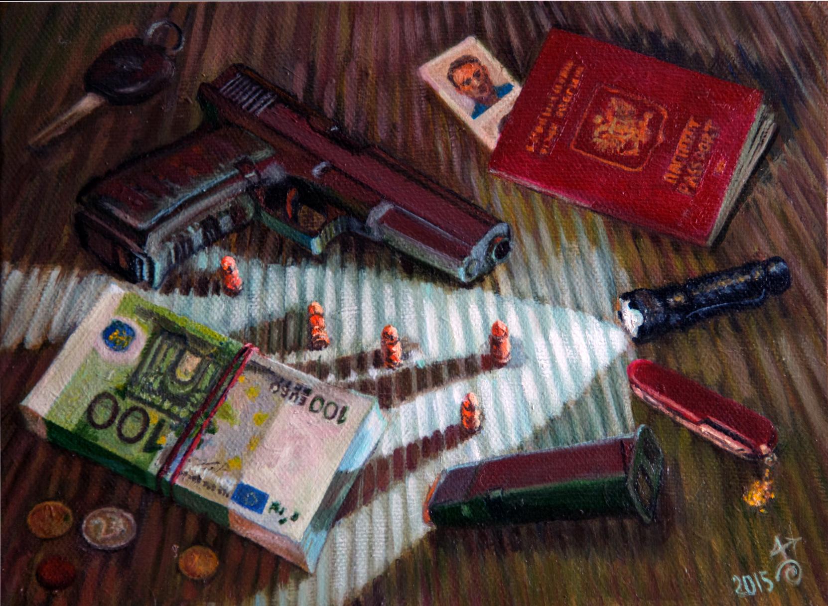 """Картина """"Glock-17"""""""
