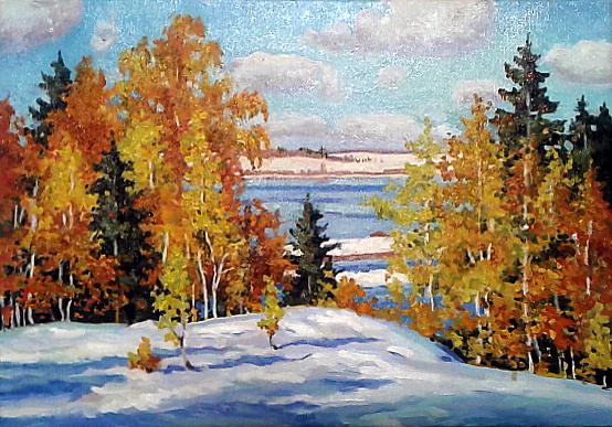Копия картины Б.Щербакова