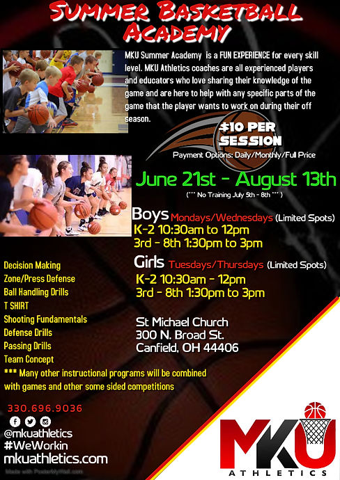 Copy of 2020 Basketball Summer Camp Flye