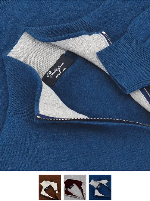 Full-Zip 100% Cashmere