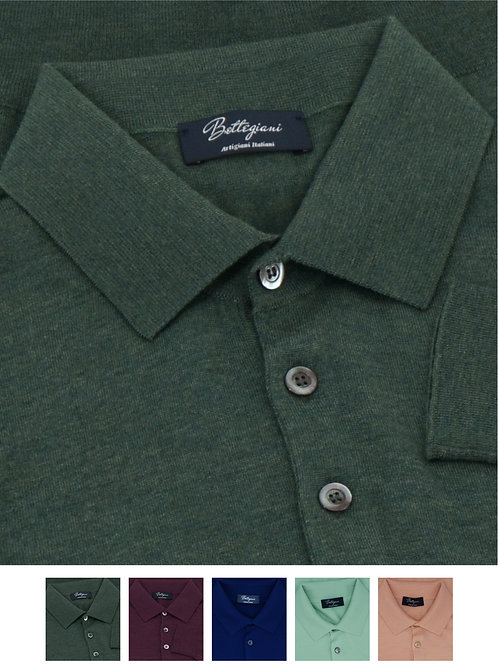 Polo Sweaters Ultralight 100% Wool Loro Piana yarn