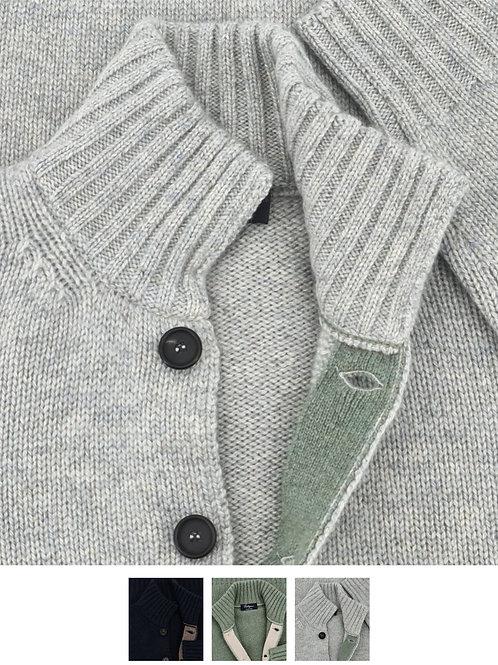 8 Buttons 100% Cashmere Coarsehair Loro Piana Yarn