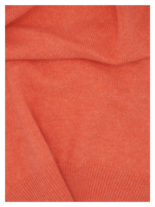 Vest 100% Cashmere Papaya Biagioli Yarn (201074)