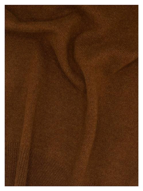 Vest 100% Cashmere Tobacco Loro Piana Yarn (496A)