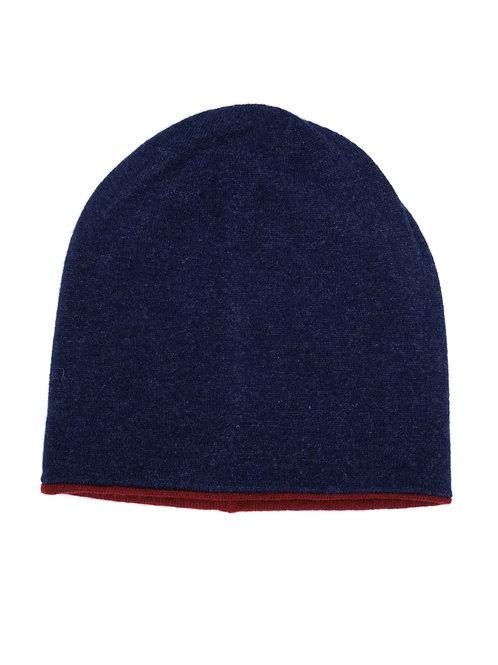 Bologna Double Face Hat 100% Cashmere filato Loro Piana