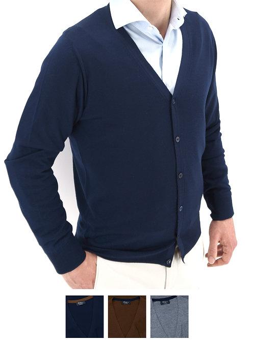 Cardigan Ultralight  100% Wool