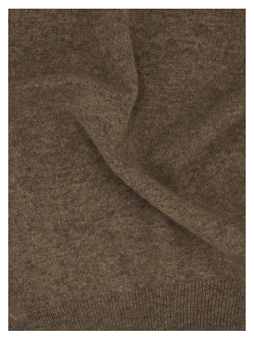 Vest 100% Cashmere Taupe Loro Piana Yarn (21430)