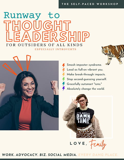 Runway to Thought Leadership