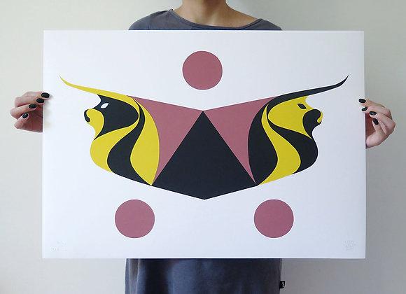 """Gravura """"Touros"""", 2015"""