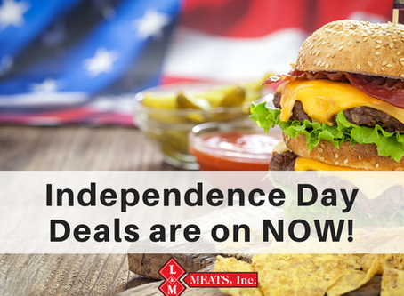 Independence Day Deals - on NOW!