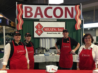 Everybody loves Laddie's bacon!