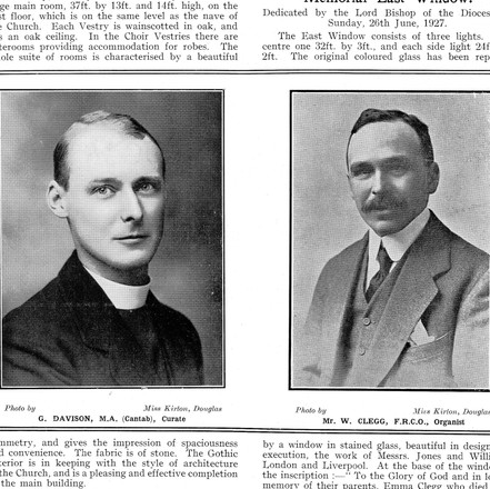 Rev. G. Davison - Documents
