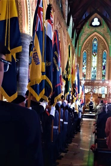 Parade Forming Remembrance 2020.jpg