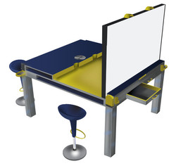 Collaborative Work Desk
