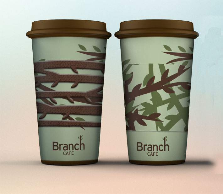 Branch Cafe Cups & Cozys