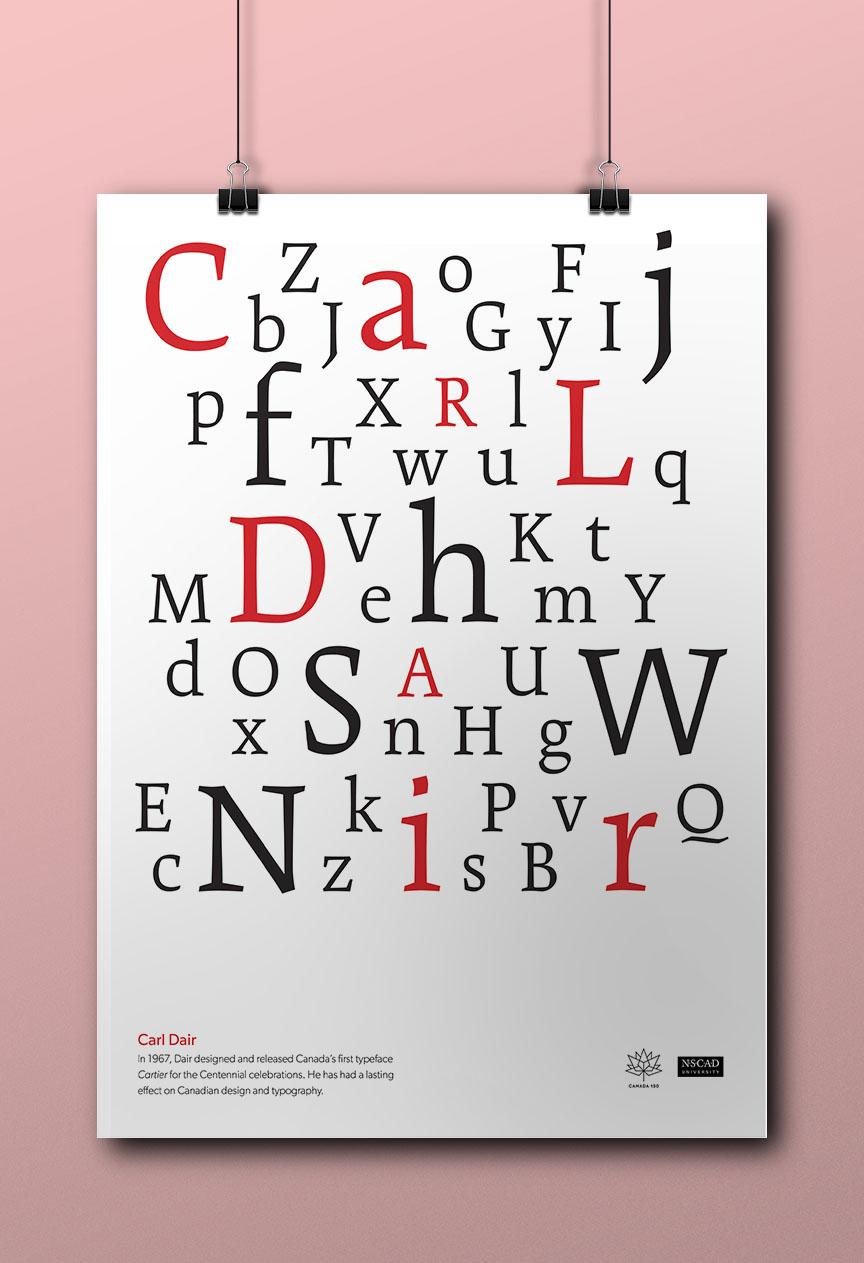 Carl Dair Cartier Poster