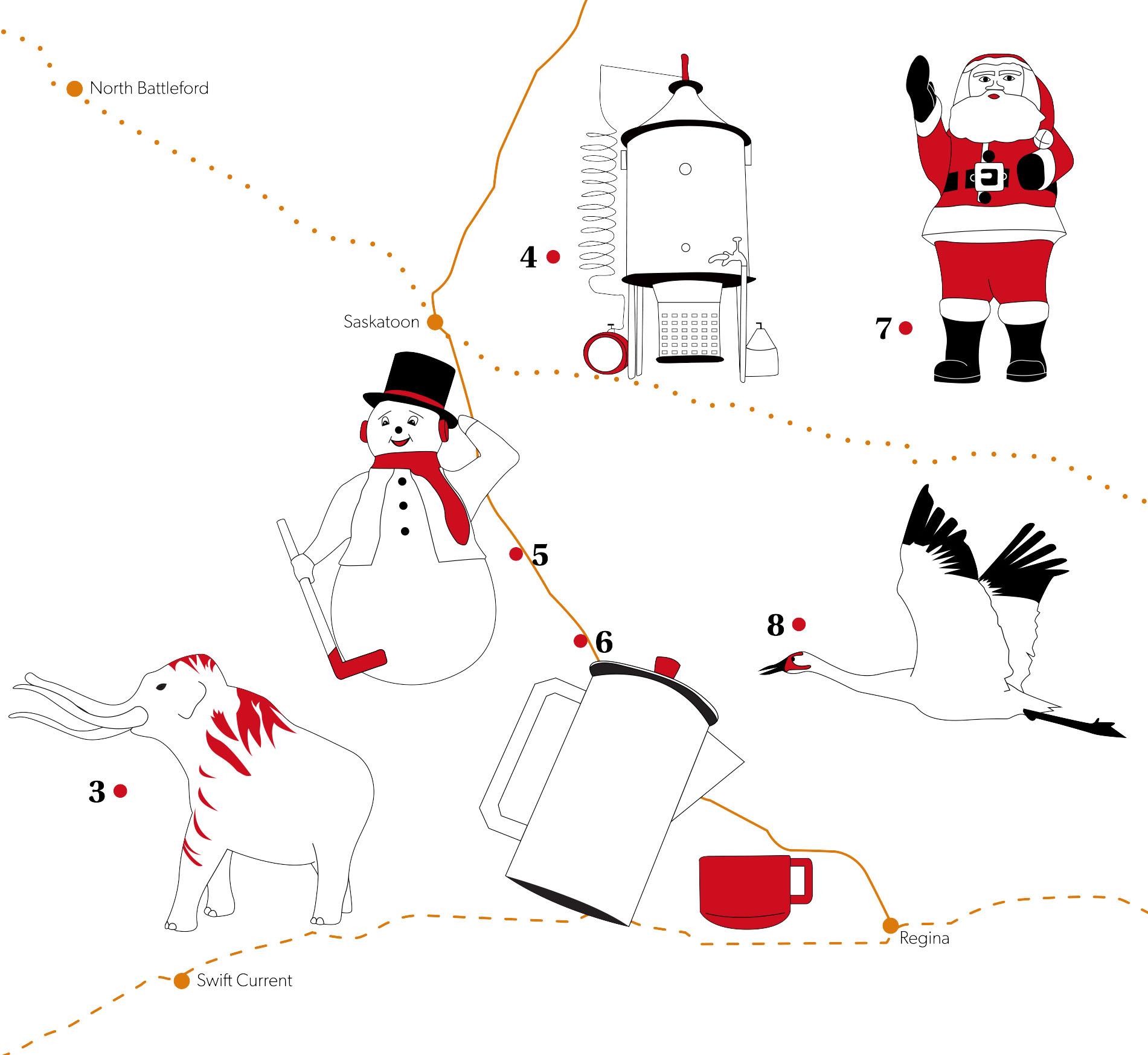 Saskatchewan Map Detail