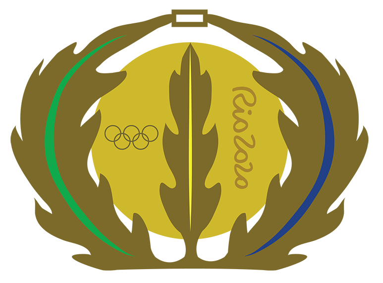Rio Medal Illustration