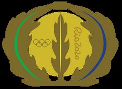 Rio Medal Illustration