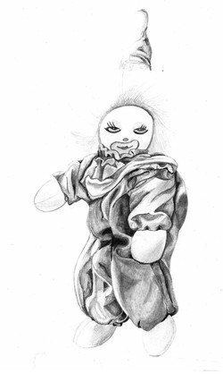 The Clown - Detailed Sketch
