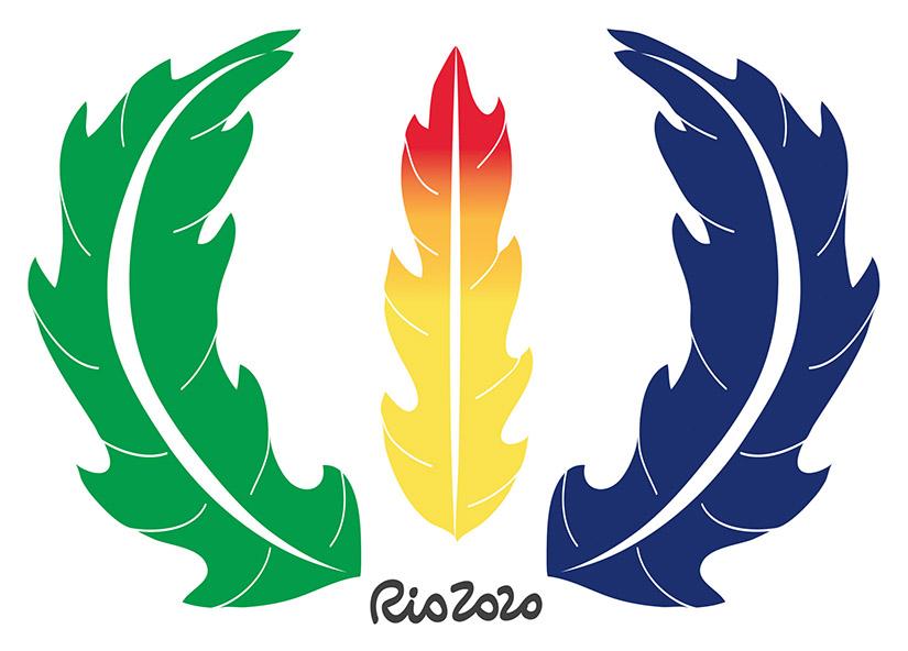 Rio 2020 Logo + Medal