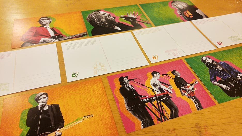 Vinyl 67 - Postcards
