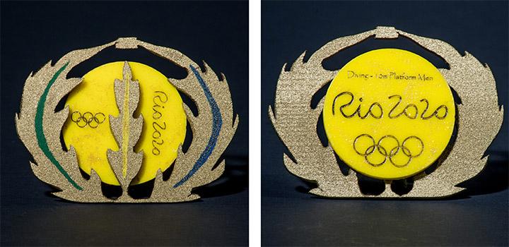 Rio Medal Prototype