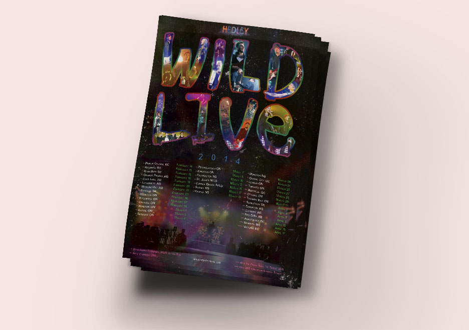 Wild Live Posters