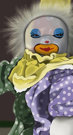 The Clown - Detail