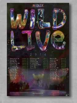 Wild Live Poster