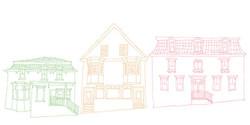 Lunenburg - Line Drawings