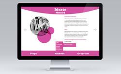 Design Thinking - Pop Up Menu