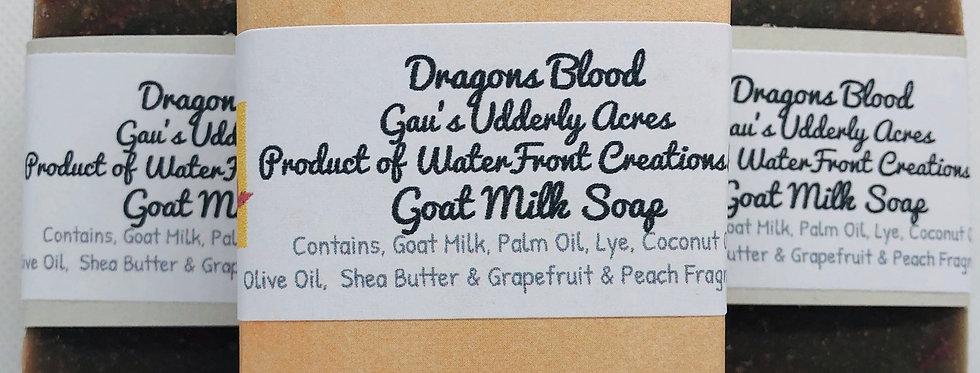 Dragons Blood Goat Milk Soap