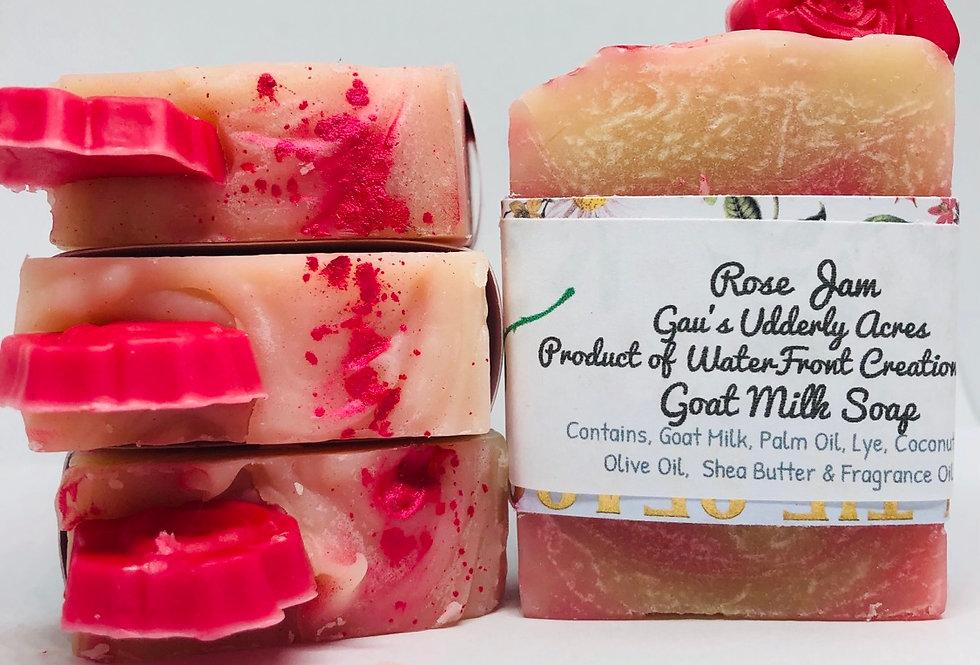 Rose Jam Goat Milk Soap