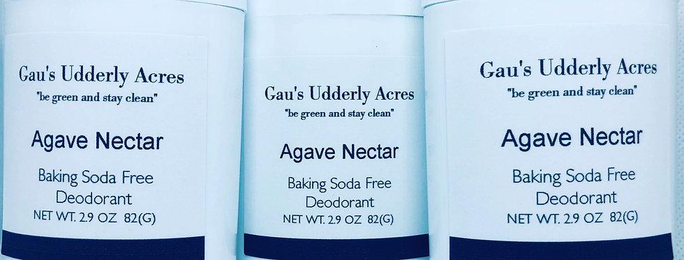 Agave Nectar Deodorant-baking soda free